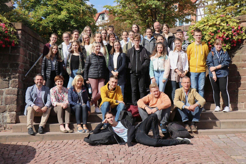 Jugendliche aus der polnische Stadt Teschen zu Gast am ...