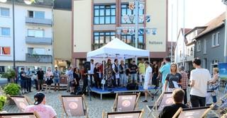 Auf neun verschiedenen Bühnen im Stadtgebiet wurde fleißig musiziert.