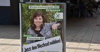 Die Bürgermeister Kandidatin Renate Tonecker-Bös.
