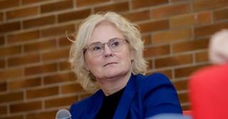 Die Bundesjustizministerin Christine Lambrecht