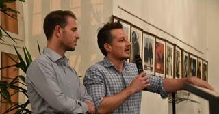 Renertec-Geschäftsführer Christoph Eckert (rechts) und Prokurist Fritz Gemmer.