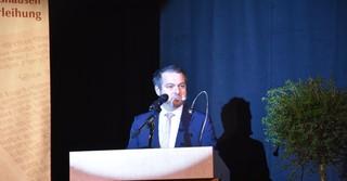 Bürgermeister Daniel Glöckner eröffnete die Veranstaltung.