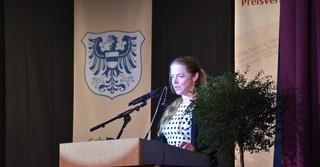 Oberstudiendirektorin Tina Ruf begrüßte alle Anwesenden im GGG.