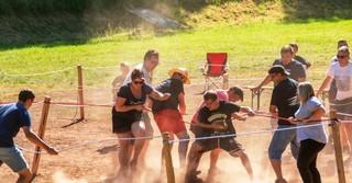 Spiel, Spaß und Spannung erwarteten die 90 Kinder und Jugendlichen im Odenwald