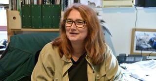 Dr. Marion Ebel in ihrem Büro im Wildpark.