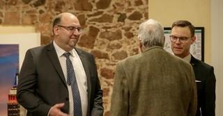 Auch Rodenbachs Bürgermeister Klaus Schejna und Naturenergie Main-Kinzig Geschäftsführer Oliver Habekost sind Gäste beim Neujahrsempfang.