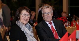 Kreisbeigeordneter Winfried Ottmann und seine Ehegattin.