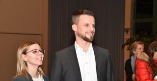 Timo Greuel und seine Lebensgefährtin.