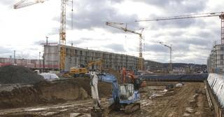 Auch in Bad Vilbel wird fleißig gebaut