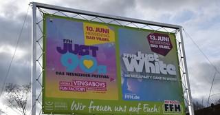 Große Konzerte werden am Hauptstandort des Radiosenders FFH erwartet