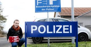 Langenselbold ist unser nächster Halt: Hier besuchen wir die Autobahnpolizei