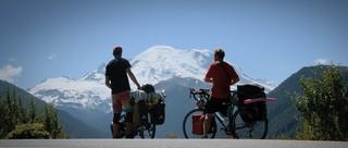Mount Rainer mit Robert.