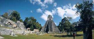 Die Tempelanlage in Guatemala