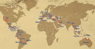 41 Länder in 761 Tagen.