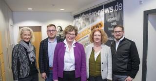 Petra Schwermann, Christian P. Stadtfeld, Dr. Beate Hofmann, Carla Ihle-Becker, Hendrik Urbin