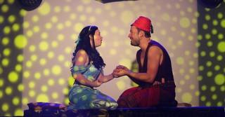Aladdin und Jasmin.