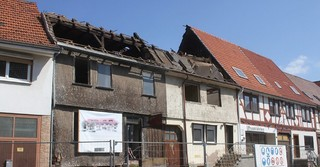Das Gebäude ist längst abgerissen