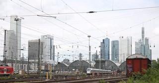 Ziel vieler Pendler: Die Mainmetropole Frankfurt am Main