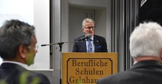 Winfried Ottmann, Schuldezernent des Main-Kinzig-Kreises und Kreisbeigeordneter.