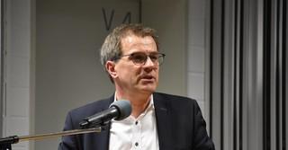 Werner Fricke, Hildesheimer Geschäftsstellenleiter des Arbeitsgeberverbandes der Deutschen Kautschukindustrie (ADK).