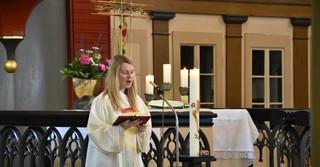 Ayleen Nüchter, Gemeindeassistentin des Katholischen Pfarramts Maria Königin in Gelnhausen.