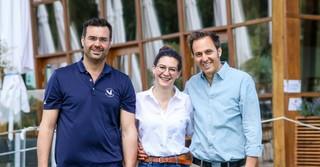 Von links: Tobias, Susanne und Michael Hecker.