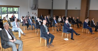 Zahlreiche Gäste besuchten den Festakt zu 30 Jahren Deutsche Einheit.