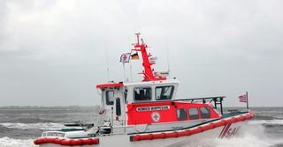 Das Seenotrettungsboot Henrich Wuppesahl