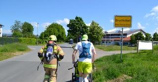 Der Wittelsberger aus der Nähe von Marburg läuft seit dem 1. Mai täglich 60 bis 80 Kilometer und läuft somit ein Herz durch Deutschland.
