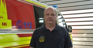 Stadtbrandinspektor Kai Heger