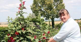 Andrea Rahn-Farr (49) ist ausgebildete Diplom-Agraringenieurin und bewirtschaftet in Büdingen-Rinderbürgen einen landwirtschaftlichen Familienbetrieb