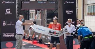 Der Schwede Patrik Nilsson überquerte die Ziellinie als Erster