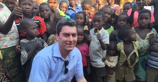 Mit Kindern in Malawi