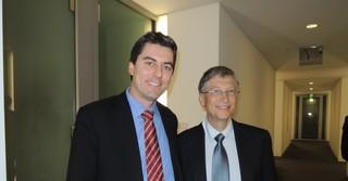 Mit Bill Gates