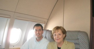 Mit der Kanzlerin bei einer Dienstreise nach Südamerika