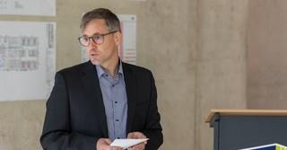 Peter Jökel, Geschäftsführer von Jökel Bau