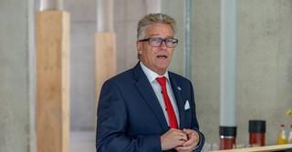 Winfried Ottmann, Kreisbeigeordneter und Vorsitzender des Verwaltungsrats der Kreissparkasse Schlüchtern