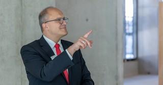 Torsten Priemer, Vorstandsmitglied der Kreissparkasse