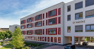 Das St. Vinzenz Klinikum in Hanau