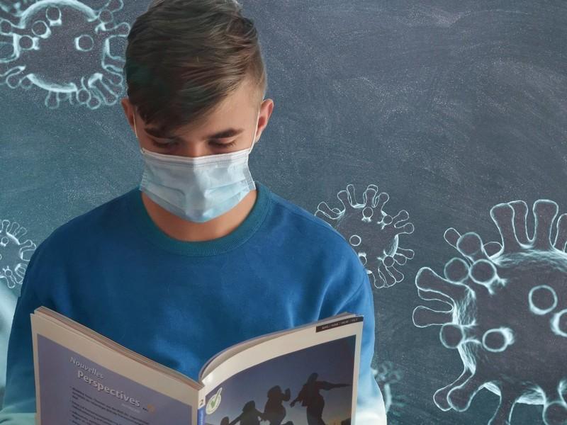 Wann darf man wieder ohne Maske in den Unterricht gehen? - Symboldbild: Pixabay