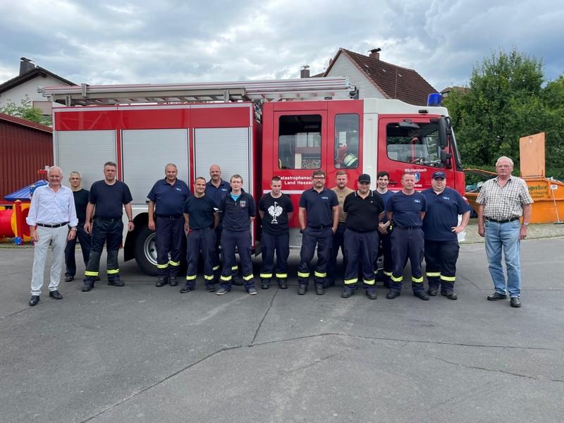 Am Donnerstag in den Mittagsstunden wurde die Feuerwehr Wächtersbach mit Kameraden aus Aufenau und Wittgenborn in den Regierungsbezirk Köln entsandt. - Foto: Stadt Wächtersbach