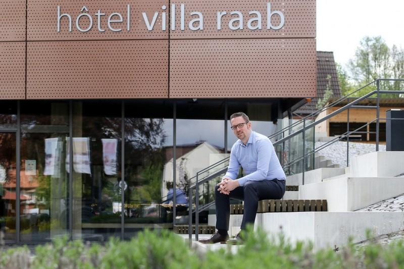 Geschäftsführer Bastian Heiser von hôtel villa raab - Archivfoto: Kinzig.News/Carina Jirsch