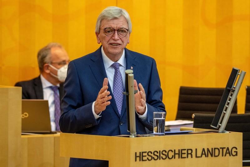 Ministerpräsident Volker Bouffier. - Archivfoto: KN/Tobias Rehbein
