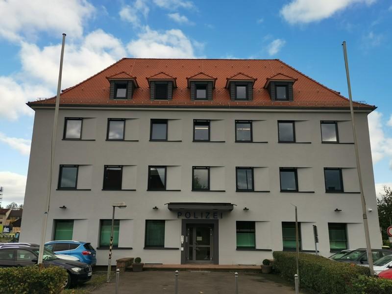 Das Hauptgebäude in der Lotichiusstraße wurde von Mai 2019 bis September 2021 von Grund auf erneuert.