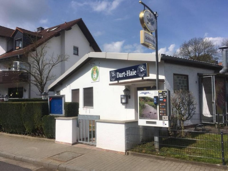 Die Dart-Kneipe Schützenhaus in Nidderau-Ostheim