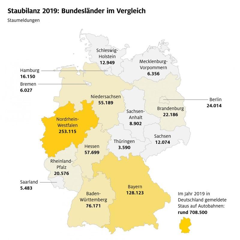 Staumeldungen Niedersachsen