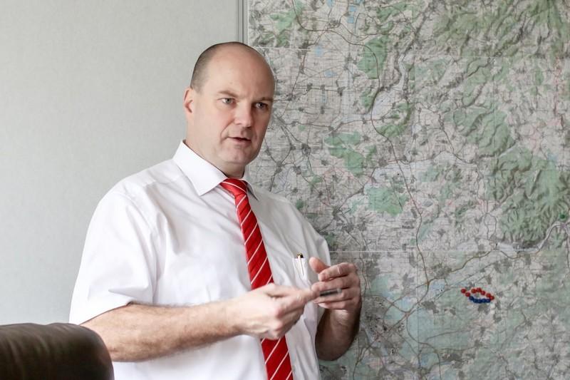 Dr. Gunther Quidde, Hauptgeschäftsführer der Industrie- und Handelskammer Hanau-Gelnhausen-Schlüchtern
