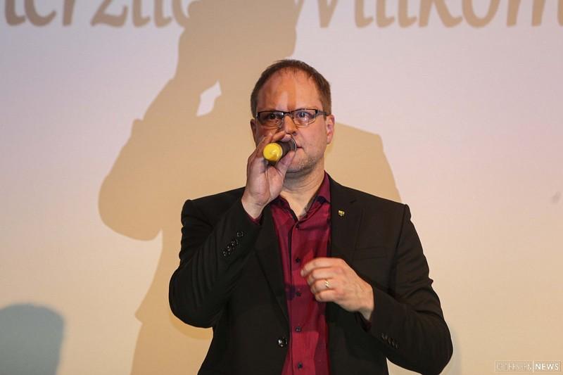 Heiko Stolz, Bürgermeister von Neuhof, kritisiert den Landesentwicklungsplan