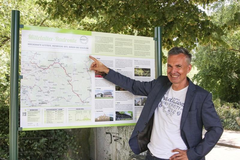 Bernhard Mosbacher von der Spessart Tourismus und Marketing GmbH