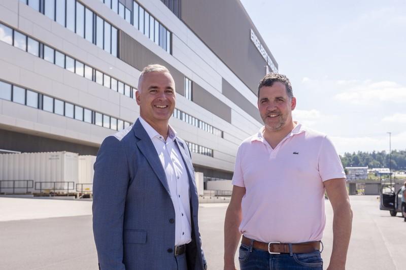 Ralph Burkhardt (links) und Stefan Baranyai.